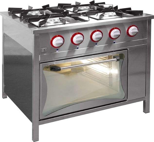 Kuchnia Gazowa Z Piekarnikiem Gazowym Egaz Tg 420 Pg 1